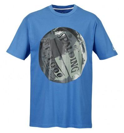 T-shirt Legacy Spalding cyan