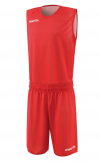 Ensemble réversible de basket X400 rouge