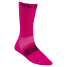 Chaussette CoolMax rose fluo/gris anthracite