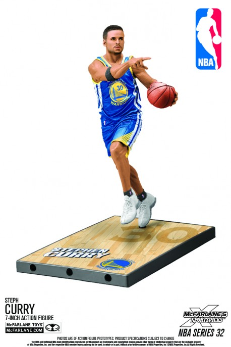 Figurine Mc Farlane NBA Stephen Curry