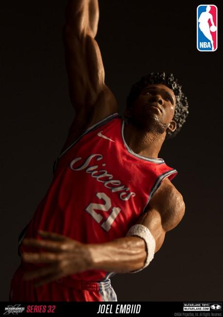 Figurine Mc Farlane NBA Joel Embiid