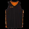 Vareuse réversible Spalding noir/orange