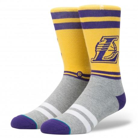 Chaussettes NBA City Gym des Los Angeles Lakers
