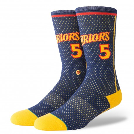 Chaussettes NBA warriors 04 HWC des Golden State Warriors