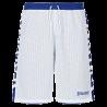 Short essential réversible  Spalding blanc/bleu royal