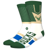 Chaussettes NBA Shortcut des Milwaukee Bucks