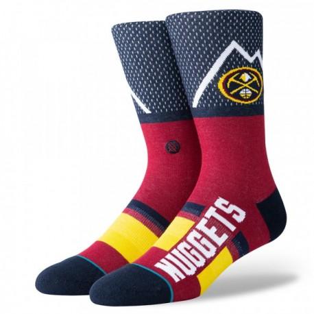 Chaussettes NBA Shortcut des Denver Nuggets