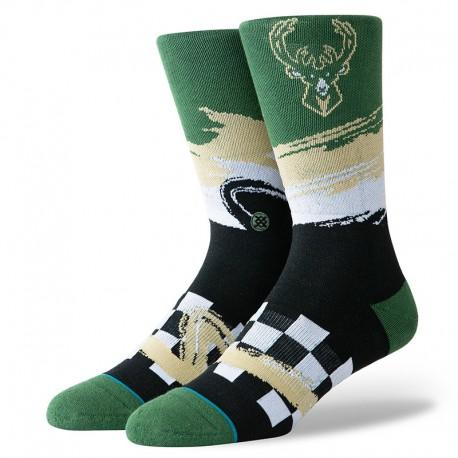 Chaussettes Wave racer des Milwaukee Bucks
