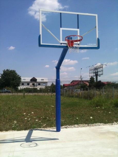 Poteau de basket extérieur Heavy Super Professional