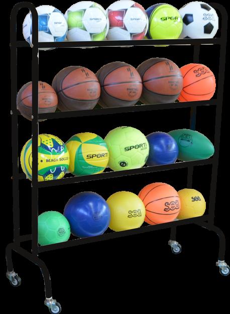 Rack à ballons mobile