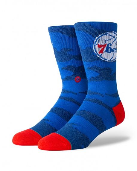 Chaussettes NBA CAMO Melange des Philadelphia 76ers