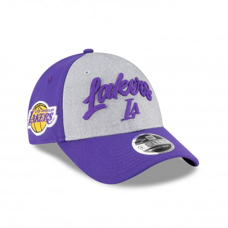 Casquette NEW ERA 9fifty Draft 2020 des Los Angeles Lakers