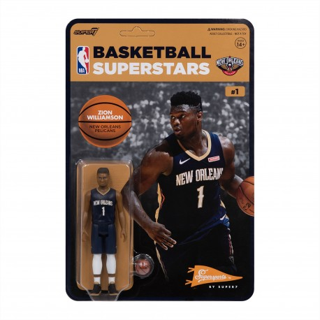 Figurine Super 7 de Zion Williamson