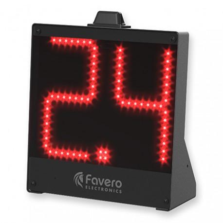 Ecran affichage possession 24 secondes basketball pour position au sol