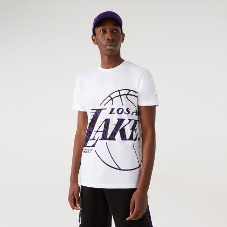 T-shirt NEW ERA Los Angeles Lakers Oil Slick Infill
