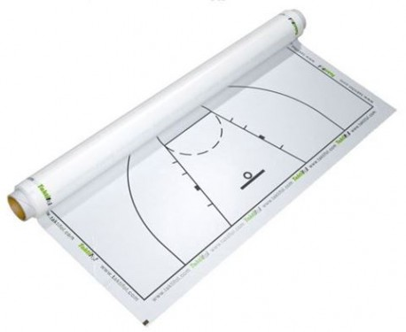 Rouleau de feuille de tactique basket