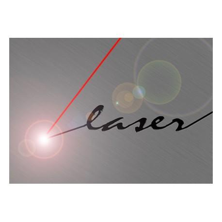 Gravure laser sur petits objets