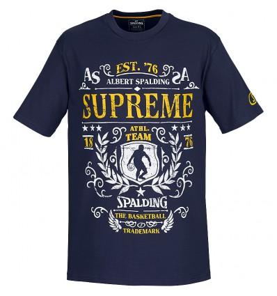 T-shirt courtes manches Suprème Spalding