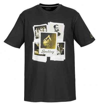 T-shirt courtes manches Légende Spalding