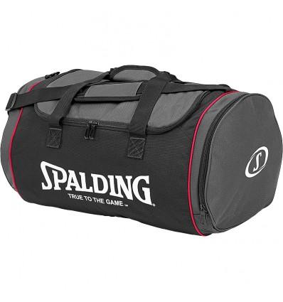 Sac d'équipe M Spalding black/grey/pink